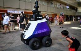 Patrulheiros do futuro: Singapura inicia testes com robôs policiais