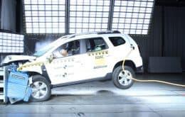 Duster leva nota zero em teste de impacto Latin NCAP; entenda o porquê
