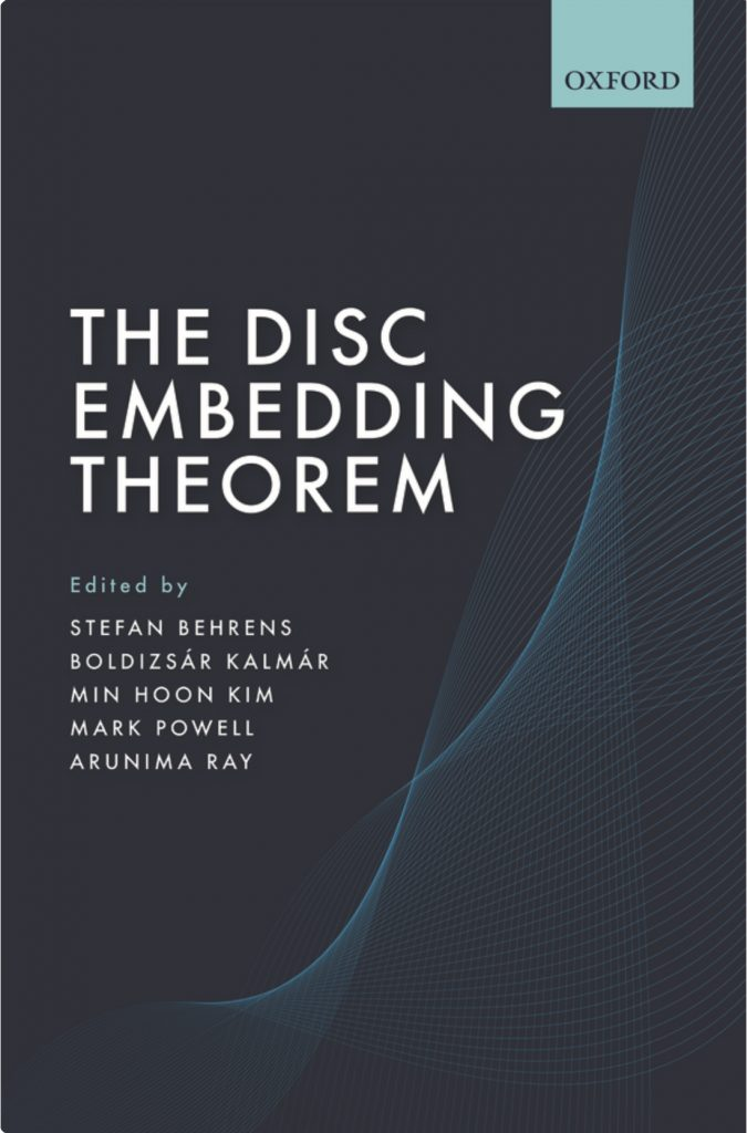 Image shows book cover that rescues an essential foundation of mathematics