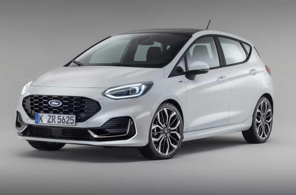 Ford Fiesta modelo de 2022 para a Europa