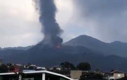 Após breve pausa, vulcão Cumbre Vieja começa a expelir cinzas