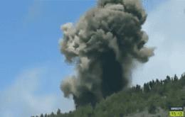 Vulcão capaz de causar tsunami no Brasil entra em erupção; veja vídeos