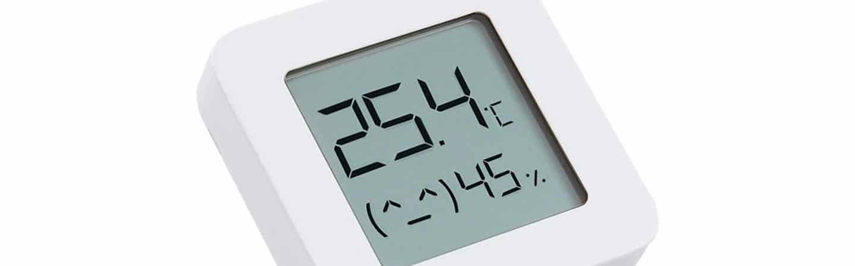 Xiaomi lança termômetro smart por financiamento coletivo. Imagem: Xioami/divulgação