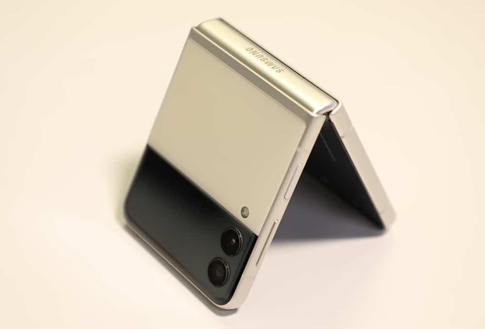 Galaxy Z Flip 3 e sua a tela externa