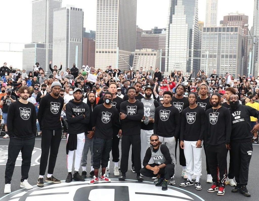 Jogadores do Brooklyn Nets