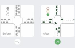 Google integra inteligencia artificial en los semáforos para reducir la contaminación