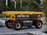 Volvo revela primeiro veículo feito de aço sem combustíveis fósseis