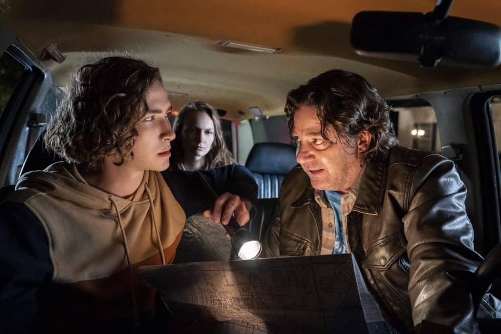 Cameron Elam (Dylan Arnold), e Lonnie Elam (Robert Longstreet) são dois retornos à franquia em 'Halloween Kills'. Imagem: Universal Pictures/Divulgação