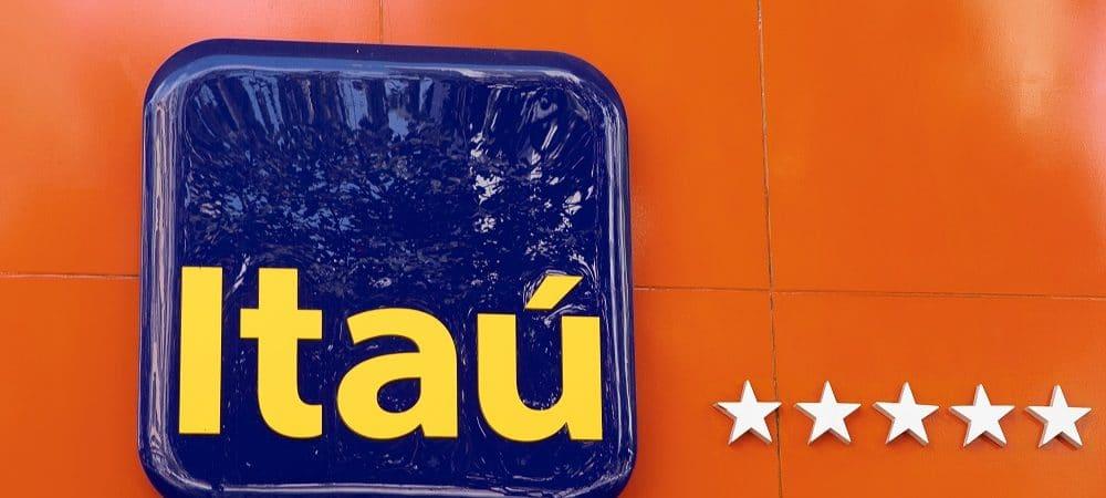 logo banco Itaú