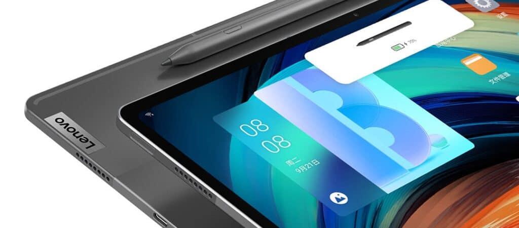 Lenovo anuncia tablet Xiaoxin Pad Pro de 12.6 polegadas e sistemas de som JBL. Imagem: Lenovo/divulgação