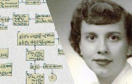 Programadora ganha reconhecimento por famoso experimento científico quase 70 anos depois