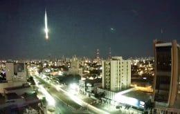 La noche se convirtió en día: un enorme meteoro explosivo cruzó el cielo en Mato Grosso