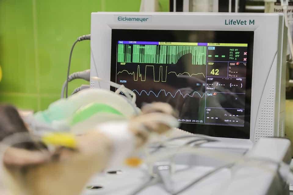 Monitor de batimentos cardíacos