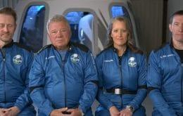 """Finalmente, Capitão Kirk alcançou a """"fronteira final""""! Veja como foi o voo da Blue Origin"""