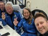 """William Shatner no espaço! Blue Origin leva """"Capitão Kirk"""" a voo suborbital"""