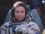 Equipe russa volta à Terra após gravar primeiro filme no espaço