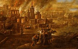 La ciudad bíblica de Sodoma puede haber sido destruida por un asteroide