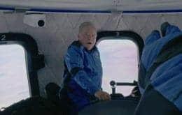 Veja o espanto de William Shatner ao observar a Terra do espaço