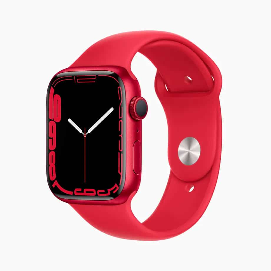 Apple Watch 7 chega às lojas em 15 de outubro. Imagem: Apple/Divulgação