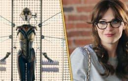 'Os Vingadores': roteiro original não tinha Viúva Negra, e sim Zooey Deschanel como Vespa