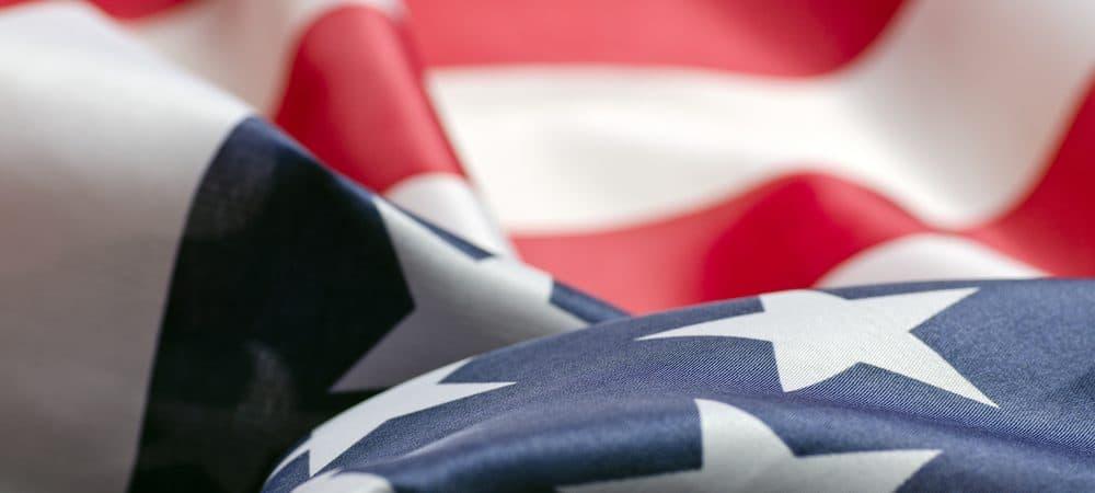 Imagem da bandeira dos Estados Unidos