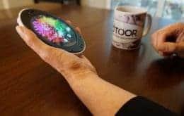 Cyrcle Phone 2.0 é um smartphone oval com tela redonda