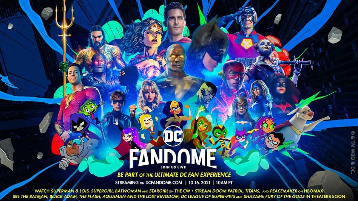 DC FanDome 2021: The Rock, Robert Pattinson e mais estão confirmados