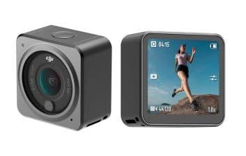 Pequena e magnética: DJI lança câmera esportiva modular 'Action 2'