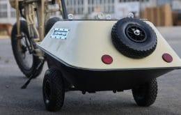 Assista: carrinho de mão se transforma em acessório para e-bike