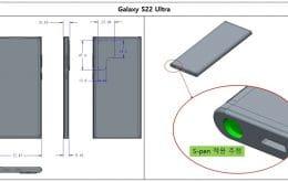 Câmera do Galaxy S22 Ultra pode ser a mesma do S21