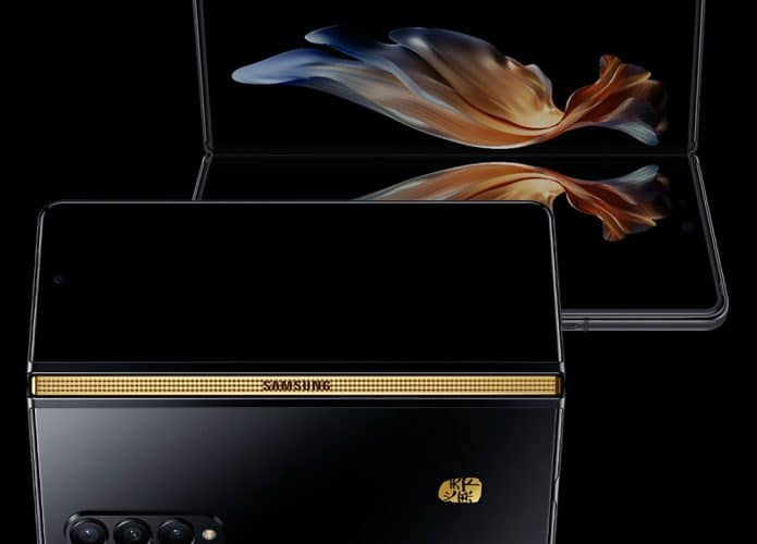 Novo dobrável da Samsung é uma versão turbinada do Galaxy Z Fold 3