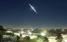 Meteoro corta o céu no Sul do Brasil e é gravado por 8 câmeras; veja