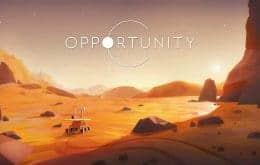 """Jogo sobre o famoso rover da Nasa, o """"Opportunity"""", chega aos PCs em 2022"""