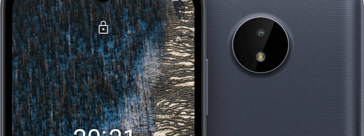Nokia C20 (Imagen: divulgación / HMD Global)