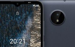Nokia C20 e C01 Plus são os novos celulares simples da Nokia no Brasil