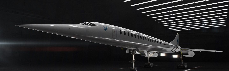 Overture, avião supersônico da Boom Supersonic