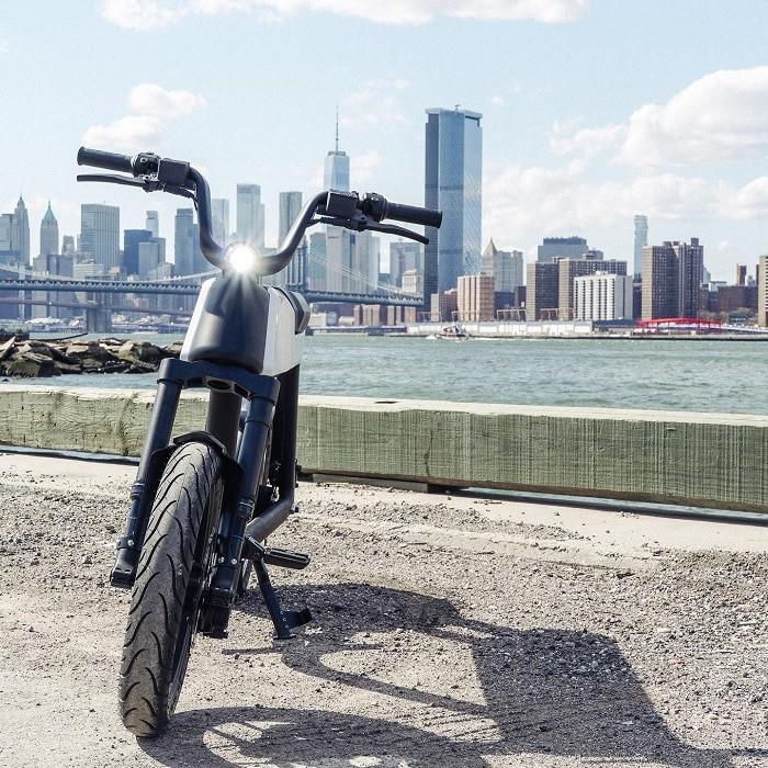 Bicicleta elétrica da Pave Motors