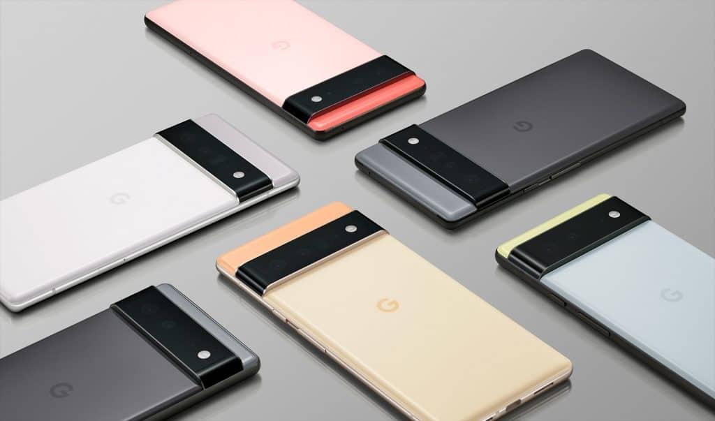 Google Pixel 6 e Pixel 6 Pro (Imagem: divulgação/Google)