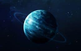 Assista imagens de Urano em tempo real neste fim de semana