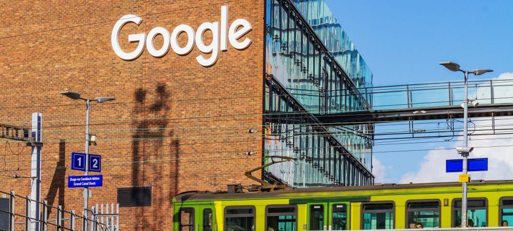 Sede europeia do Google em Dublin, Irlanda.