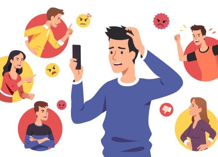 Facebook contra o bullying