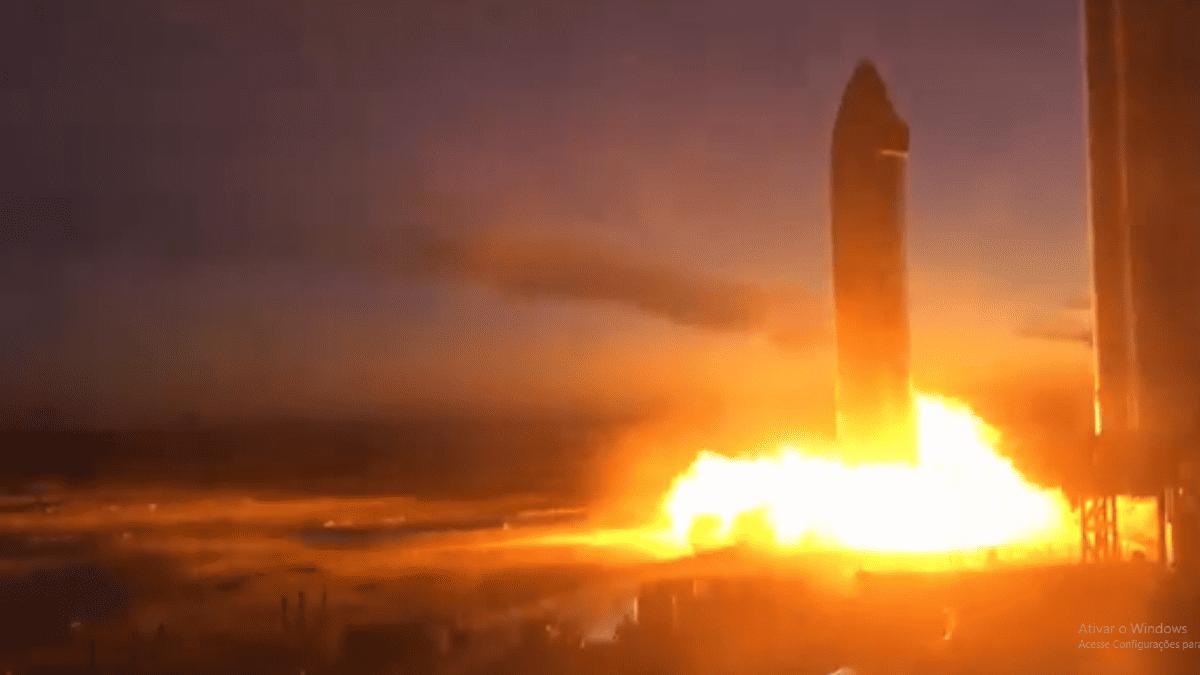 Starship SN20 completa o primeiro teste estático de ignição e chega mais perto de primeiro voo orbital