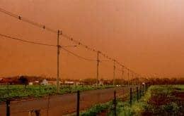 Nova tempestade de areia escurece o céu do Mato Grosso do Sul (MS)