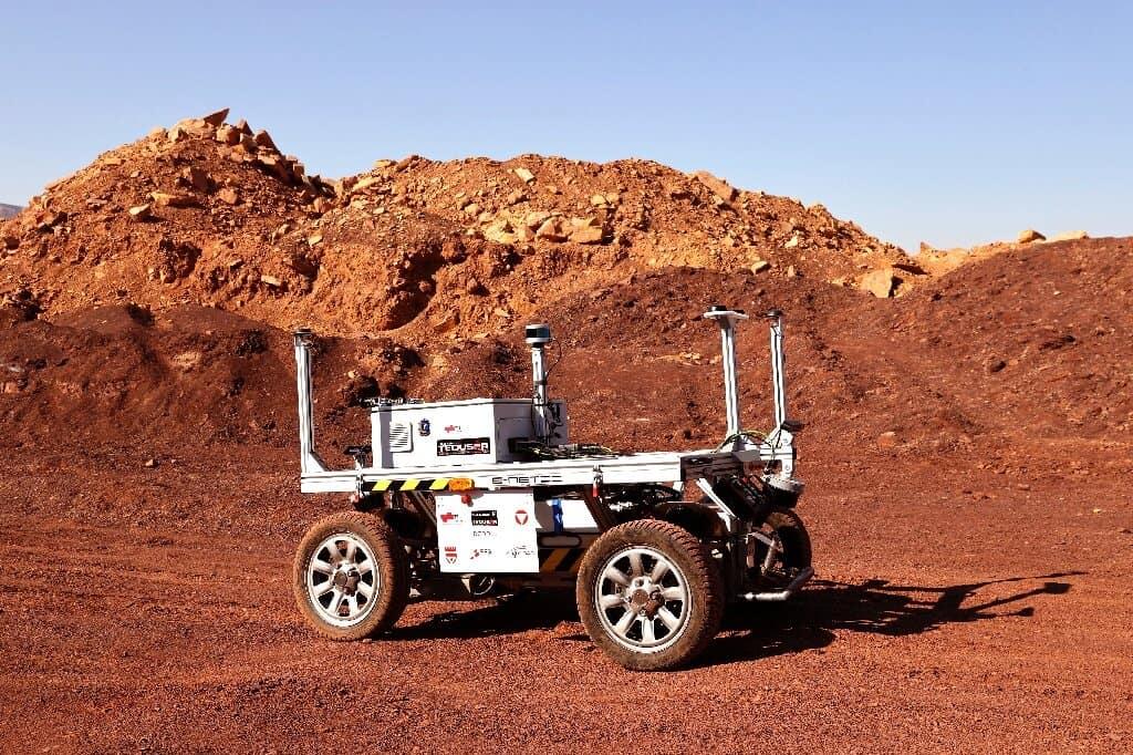 Veículo a ser testado em projeto que simula a vida em Marte dentro de Israel