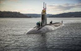 Em acidente raro, submarino nuclear americano colide com objeto misterioso sob o Mar da China